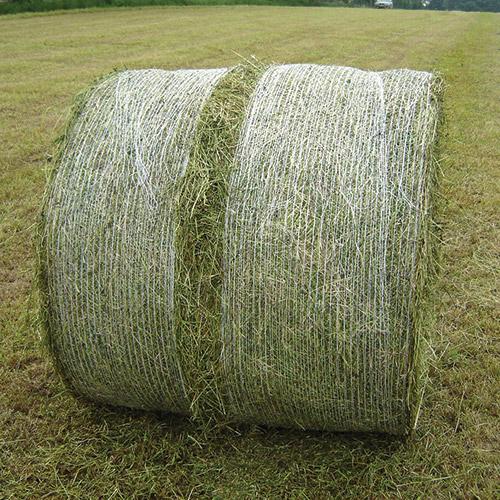 Net Splitting on bale Wrap