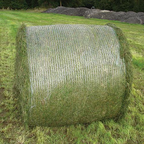 Net wrap not spreading