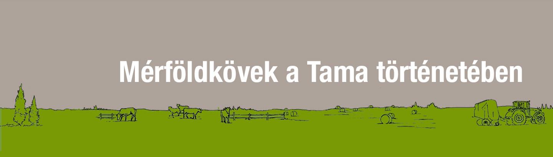 Mérföldkövek a Tama történetében