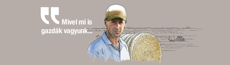 Mivel mi is gazdák vagyunk...